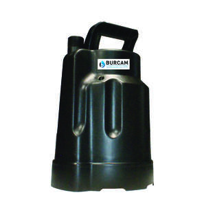 Burcam  Thermoplastic  Submersible Utility Pump  1/4 hp 1,450 gph 115 volts