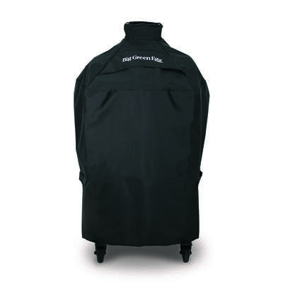 Big Green Egg  Black  Grill Cover  For Medium EGGs in intEGGrated Nest Handlers or E 10.25 in. W x 1