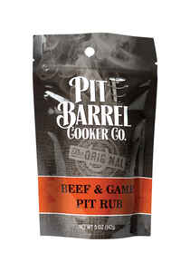 Pit Barrel Cooker  Beef and Game  BBQ Rub  5 oz.