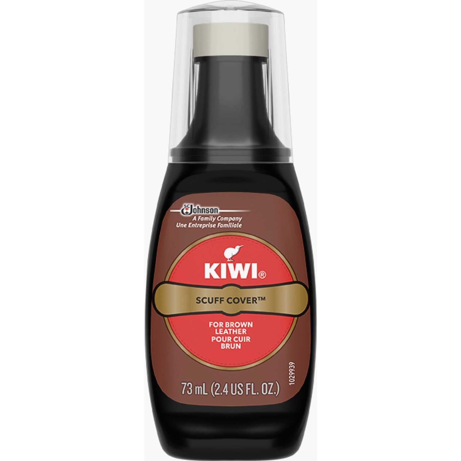 Kiwi  Brown  Scuff Cover Shoe Polish  2.5 oz.