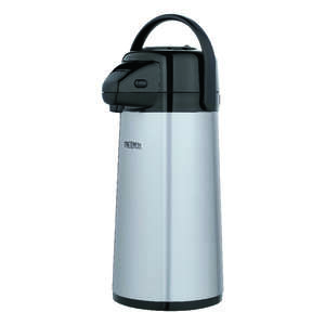 Thermos  Black/Silver  Stainless Steel  Stainless Steel  Metallic  Carafe