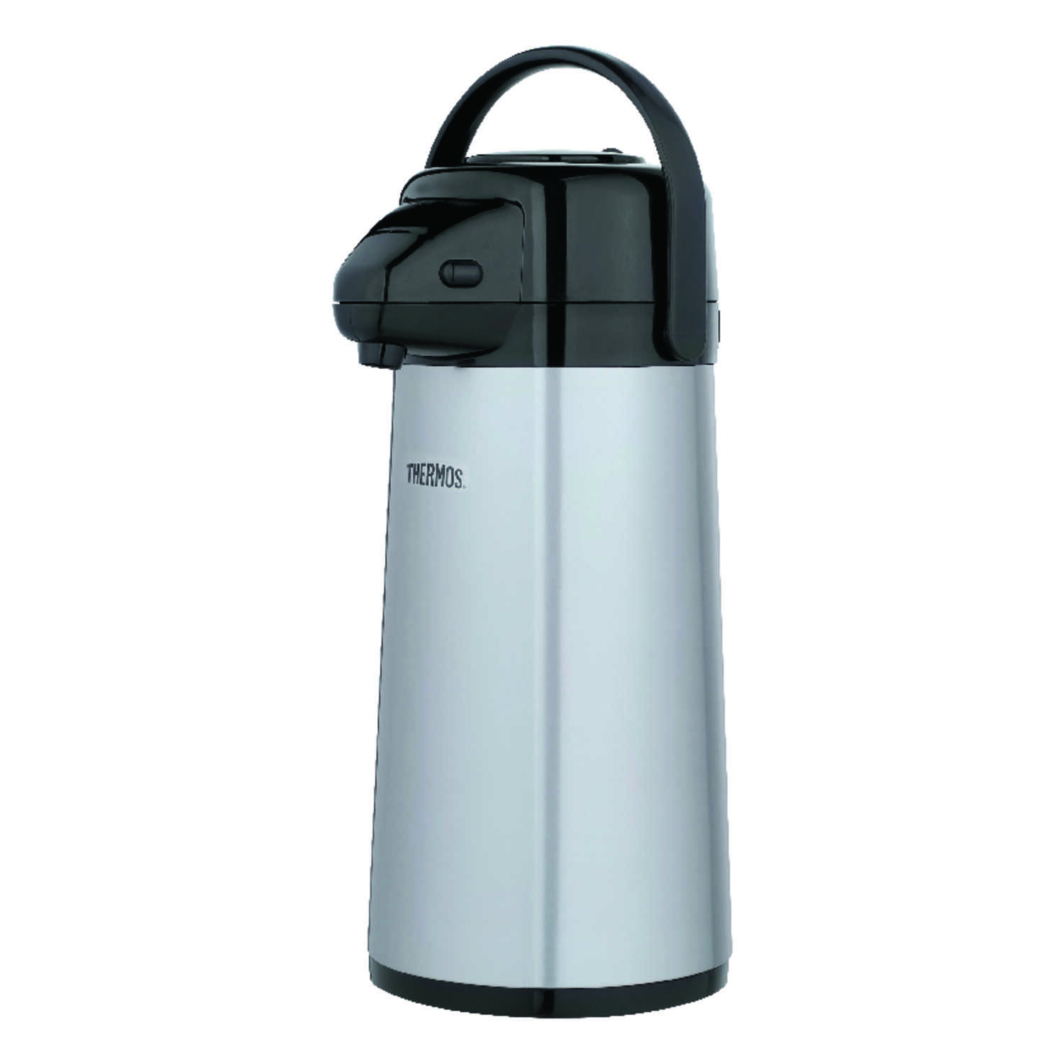 Thermos  Black/Silver  Carafe  Stainless Steel