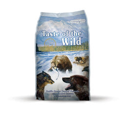 Taste of the Wild  Pacific Stream Canine  Smoked Salmon  Dog  Food  Grain Free 5 lb.