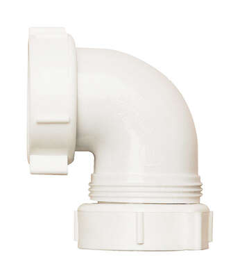 Plumb Pak 1-1/2 in. Dia. x 4-1/2 in. L Plastic 90 Degree Elbow