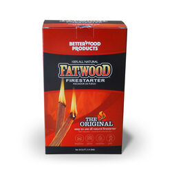 BetterWood Products Fatwood Pine Resin Stick Fire Starter 2 lb.