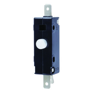 Jandorf  18 amps Single Pole  Momentary  Appliance Switch  Black/Silver  1 pk