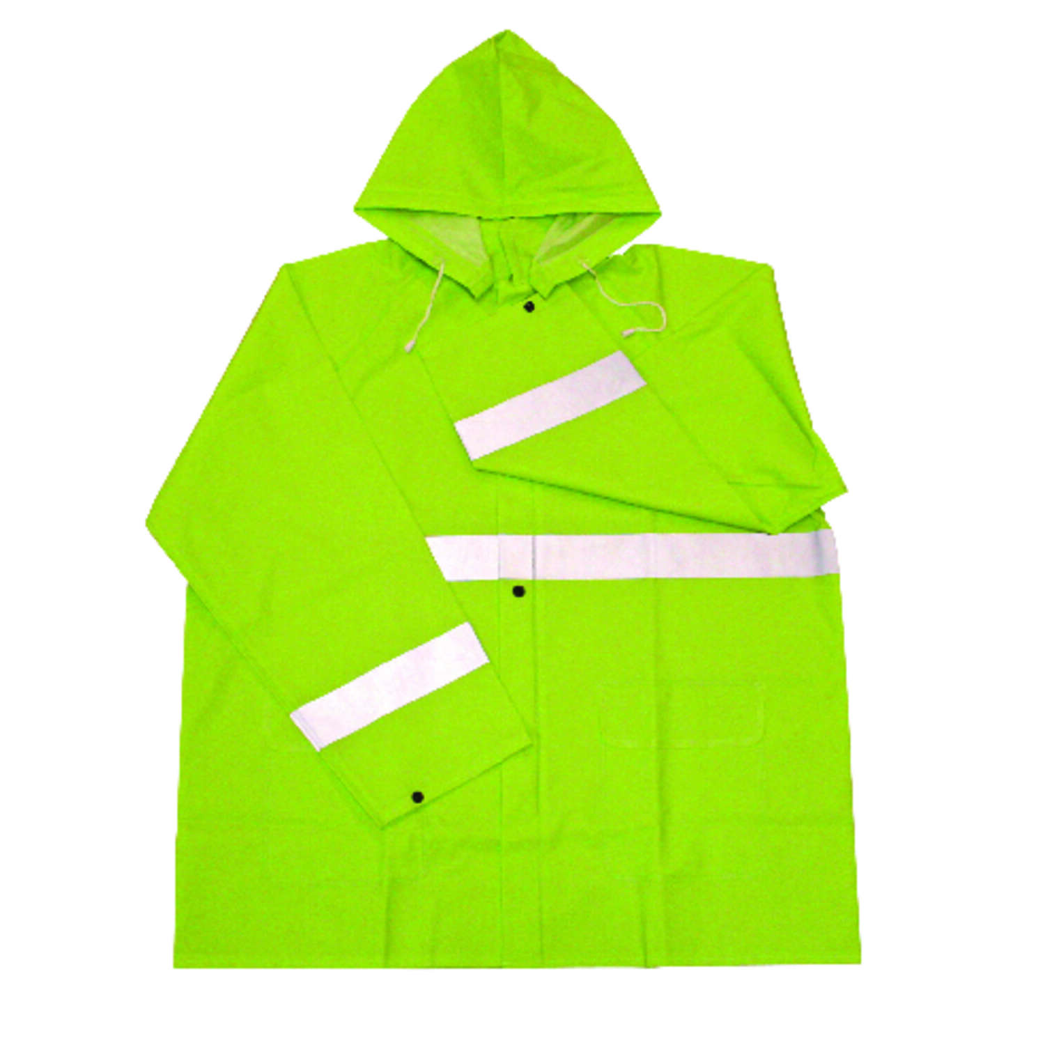 Boss  Green  PVC  Rain Jacket  L