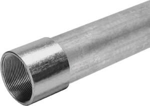 Allied Moulded  2 in. Dia. x 10 ft. L Galvanized Steel  Electrical Conduit  For IMC