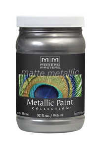 Modern Masters  Pewter  Protective Enamel  32 oz.