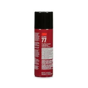 3M  Super 77  Medium Strength  Synthetic Polymer  Adhesive  7.3 oz.