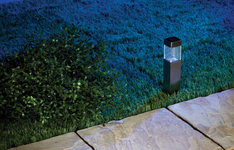 Living Accents  Solar Powered  Bollard Light  1 each LED