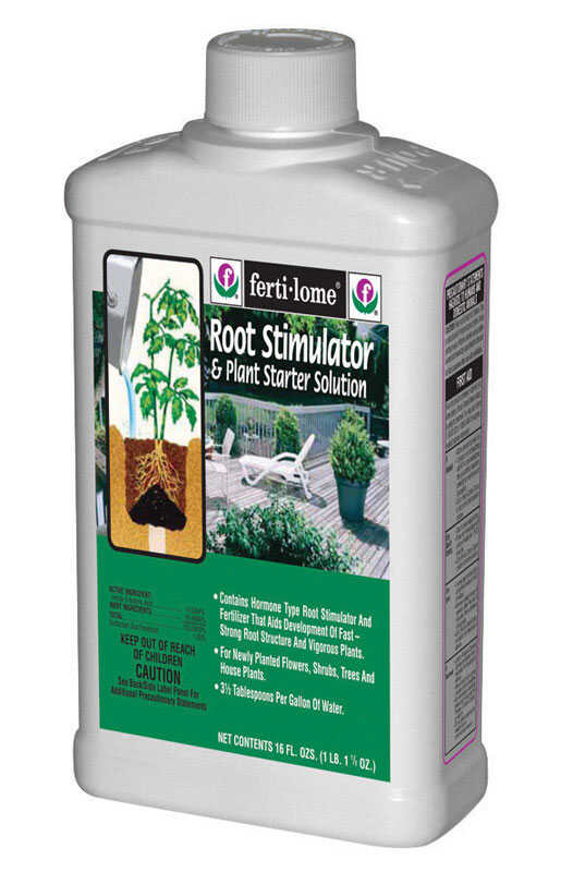 Ferti-Lome  Root Stimulator  Liquid  Plant Food  16 oz.