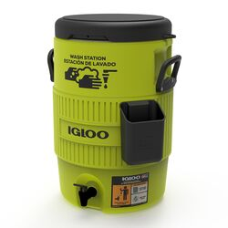 Igloo  Wash Station  Beverage Tub  5 gal. Green  1 pk
