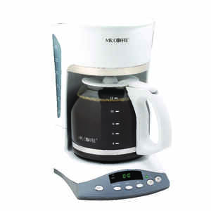 Mr. Coffee  Advanced Brew  12 cups White  Coffee Maker