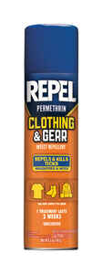 Repel  Clothing & Gear  Insect Repellent  Liquid  For Mosquitoes/Ticks 6.5 oz.