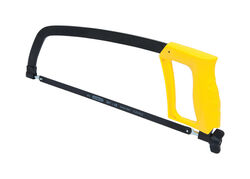 Stanley  12 in. Carbon Steel  Hacksaw  Black/Yellow  1 pc.