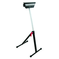 Ace  Metal  11.5 in. L x 11.5 in. H x 11.5 in. W Roller Stand  250 lb. capacity Black/Silver  1 pc.