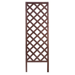 Panacea  72 in. H Brown  Wood  Trellis