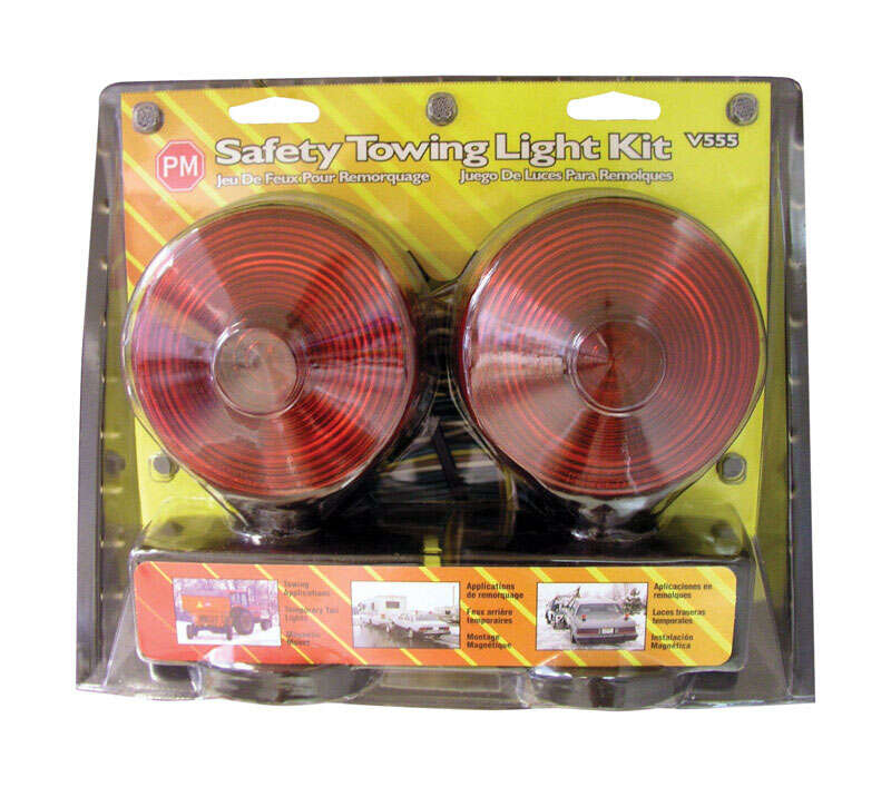 Peterson  Red  Round  Towing  Light Kit