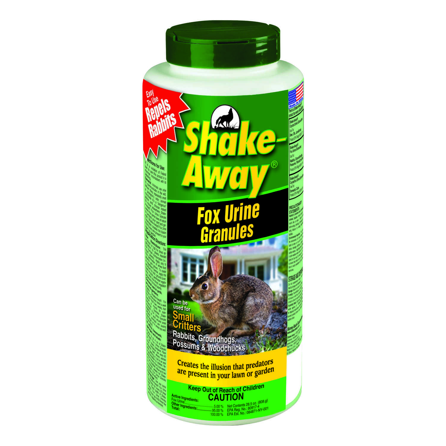 Shake-Away  For Small Critters, Other Animal Repellent