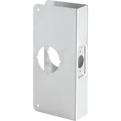 Prime-Line 9 in. H x 3.875 in. L Stainless Steel Lock and Door Reinforcer