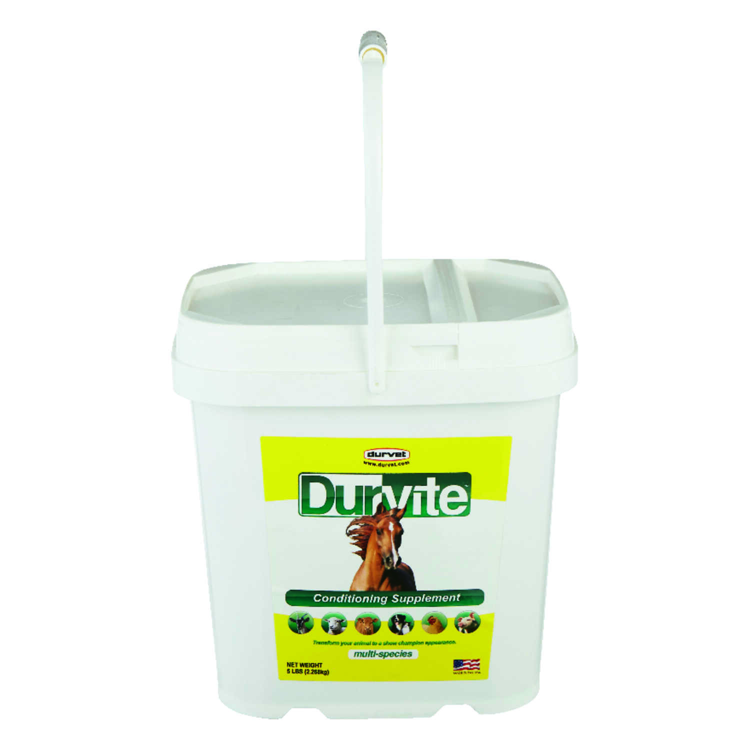 Durvite  Solid  Conditioning Supplement  For All Animals 5 lb.