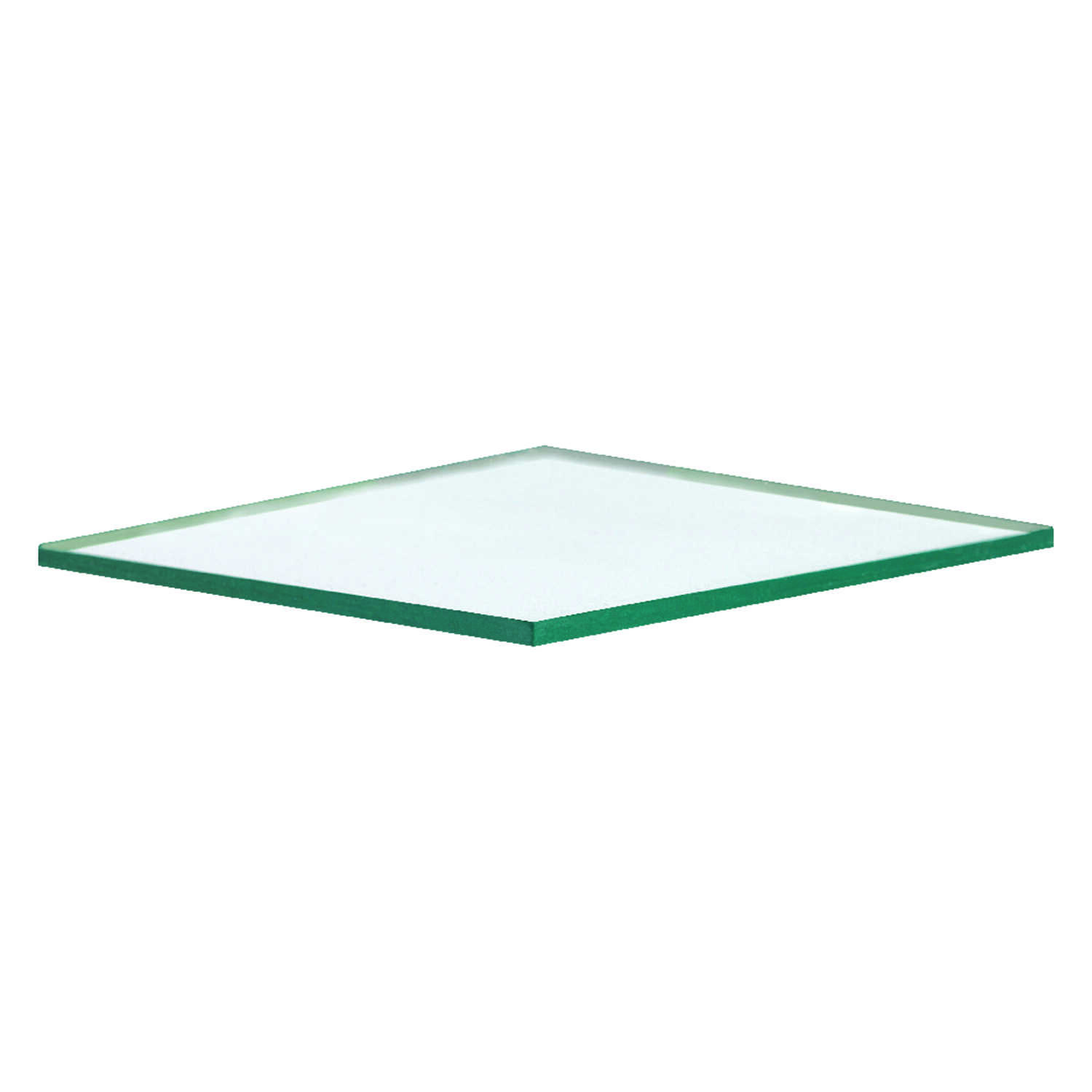 Aetna Glass  Clear  Double  Float Glass  48 in. W x 48 in. L x 3.0 mm
