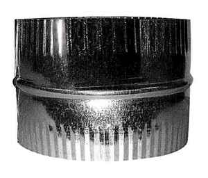 Imperial  Adjustable Aluminum/Galvanized Steel  Duct Adapter