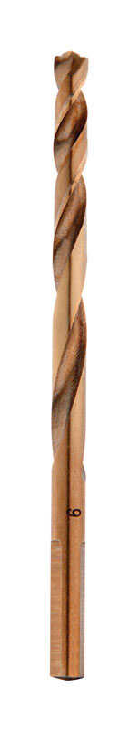 Milwaukee  RED HELIX  7/32 in. Dia. x 3-7/8 in. L THUNDERBOLT  Cobalt Steel  3-Flat Shank  Drill Bit