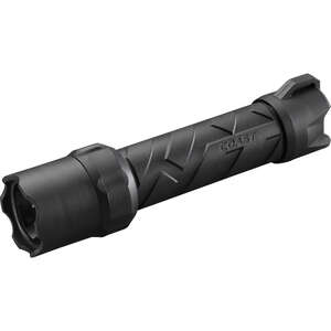 Coast  Polysteel 600  620 lumens Black  LED  Flashlight  AA