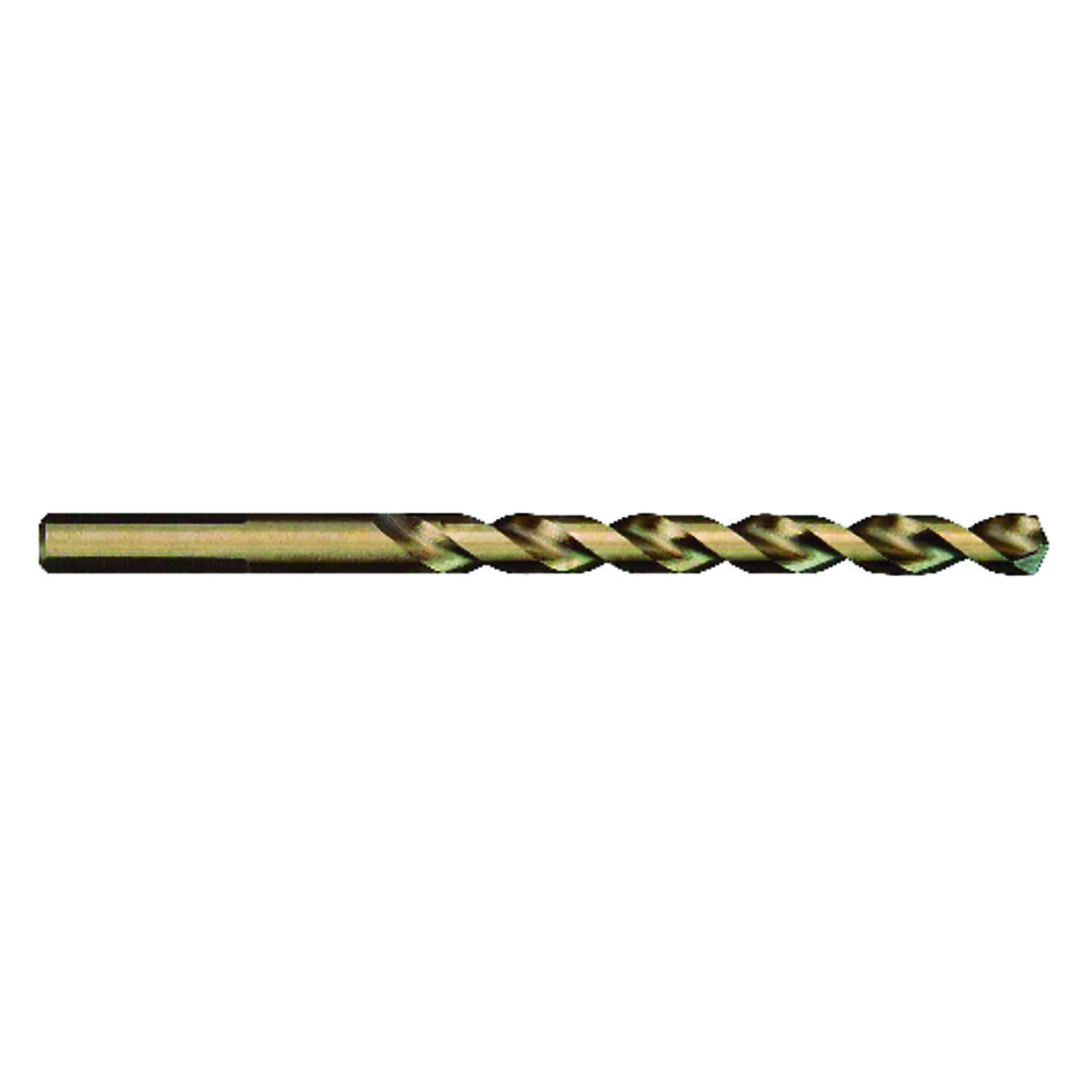 Milwaukee  RED HELIX  7/16 in. Dia. x 5 in. L Cobalt Steel  THUNDERBOLT  3-Flat Shank  1 pc. Drill B