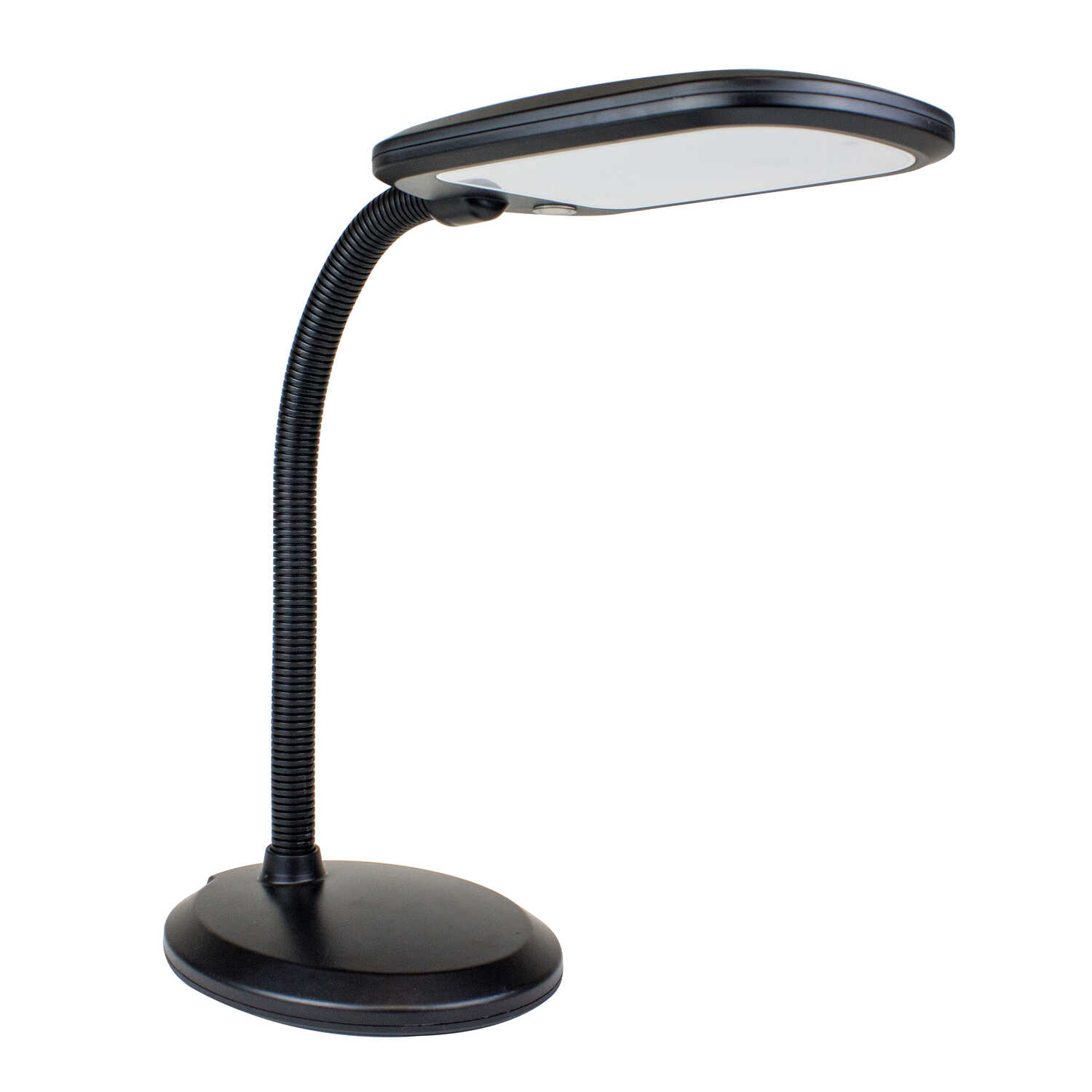Newhouse  The Eos  14 in. Black  Desk Lamp