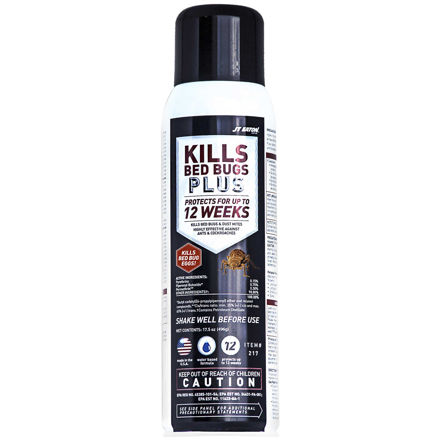 JT Eaton  KILLS Plus  Insect Killer  17.5 oz.