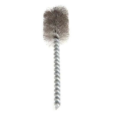 Forney 4 in. L x 3/4 in. W Power Tube Cleaning Brush Stainless Steel 1 pc.