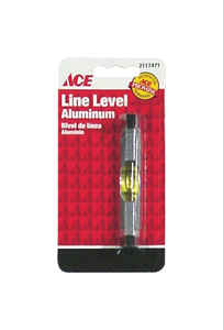 Ace  3 in. Aluminum  Line  Level  1 vial