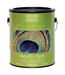 Modern Masters  Shimmer  Satin  Champagne  Water-Based  Metallic Paint  1 gal.