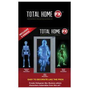 Total HomeFX  Halloween  Projector Videos  7 ft. H x 4 ft. W 1 pk