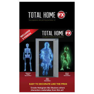 Total HomeFX  Halloween  Projector Videos  4 ft. W x 7 ft. H 1 pk
