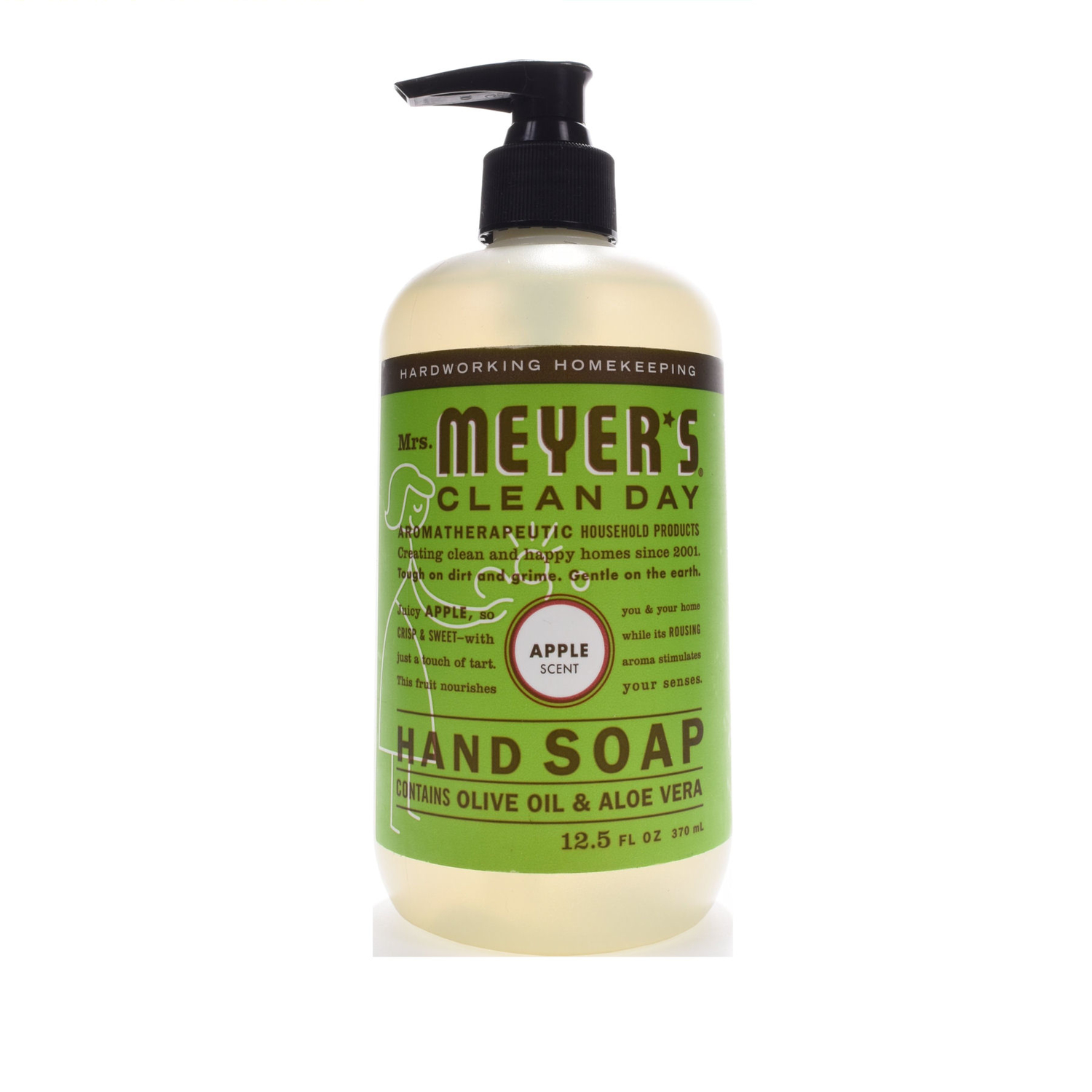Mrs. Meyer's Clean Day 12.5 oz. Liquid Hand Soap Apple Scent