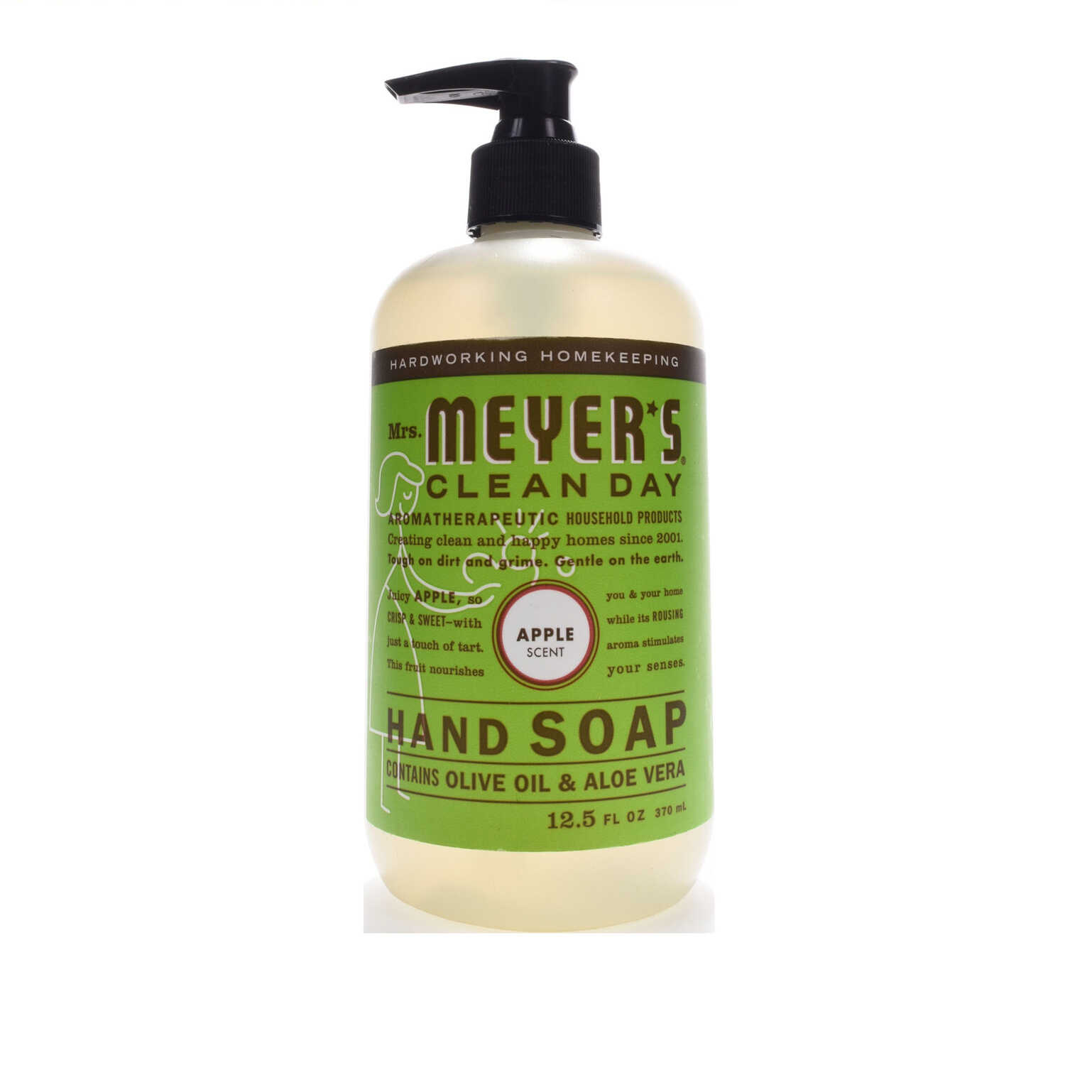 Mrs. Meyer's  Clean Day  Organic Liquid Hand Soap  12.5  Apple Scent