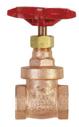 BK Products ProLine 3/4 in. FIP Brass Gate Valve Lead-Free