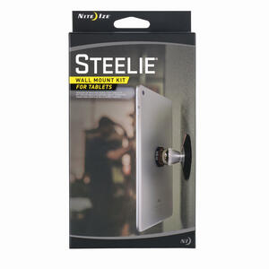Nite Ize  Steelie  Black/Silver  Tablet Holder  For Universal