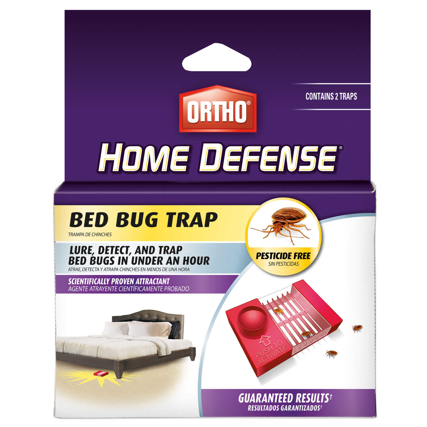 Ortho  Home Defense  Bed Bug Trap  2 pk