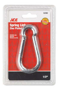 Ace  Galvanized  Steel  Spring Snap  230 lb. 1 pk