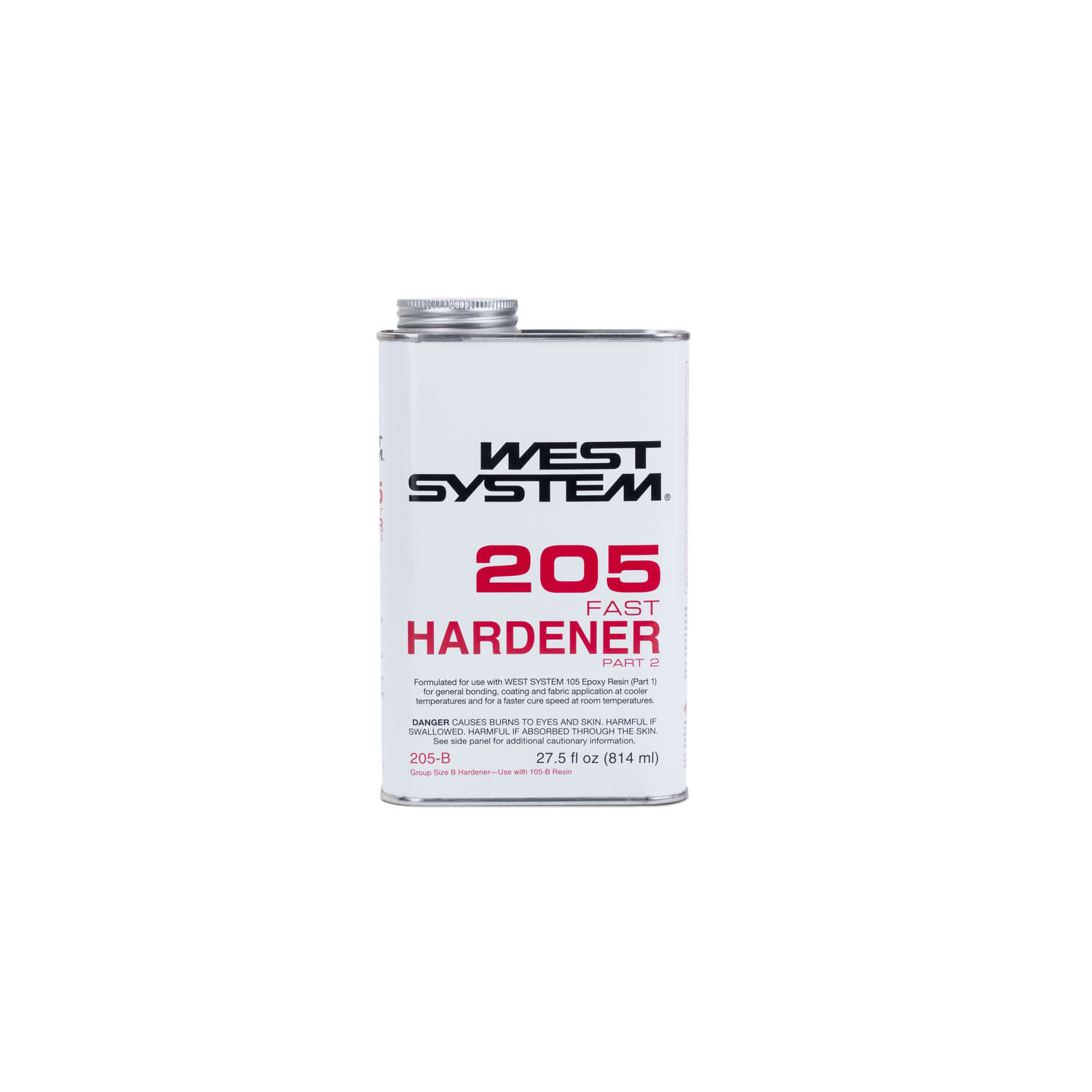 West System  Extra Strength  Epoxy  Fast Hardener Curing Agent  27.5 oz.