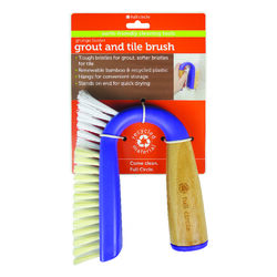 Full Circle Grunge Buster 5.51 in. W Bamboo Grout Brush
