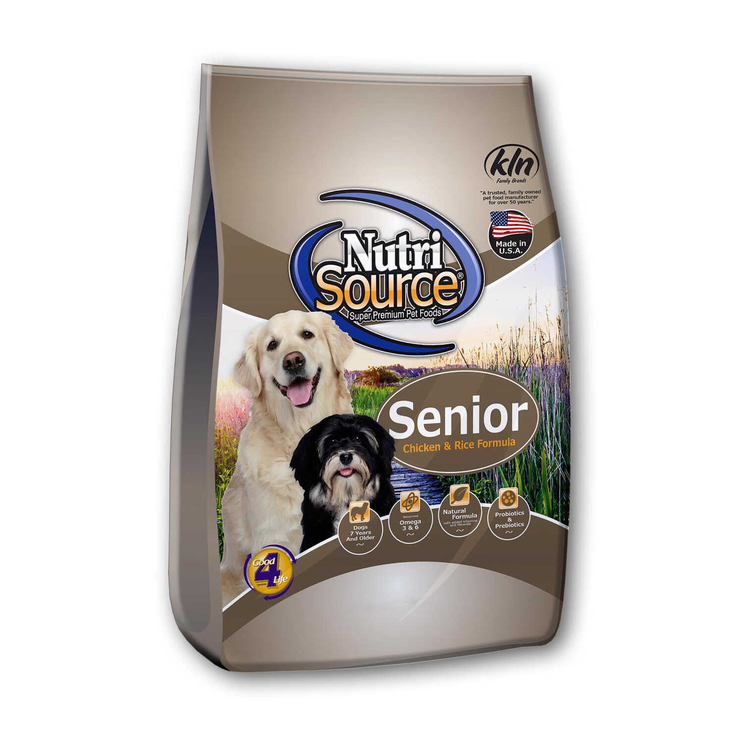 Nutri Source  Chicken and Rice  Cubes  Dog  Food  5.52 lb.