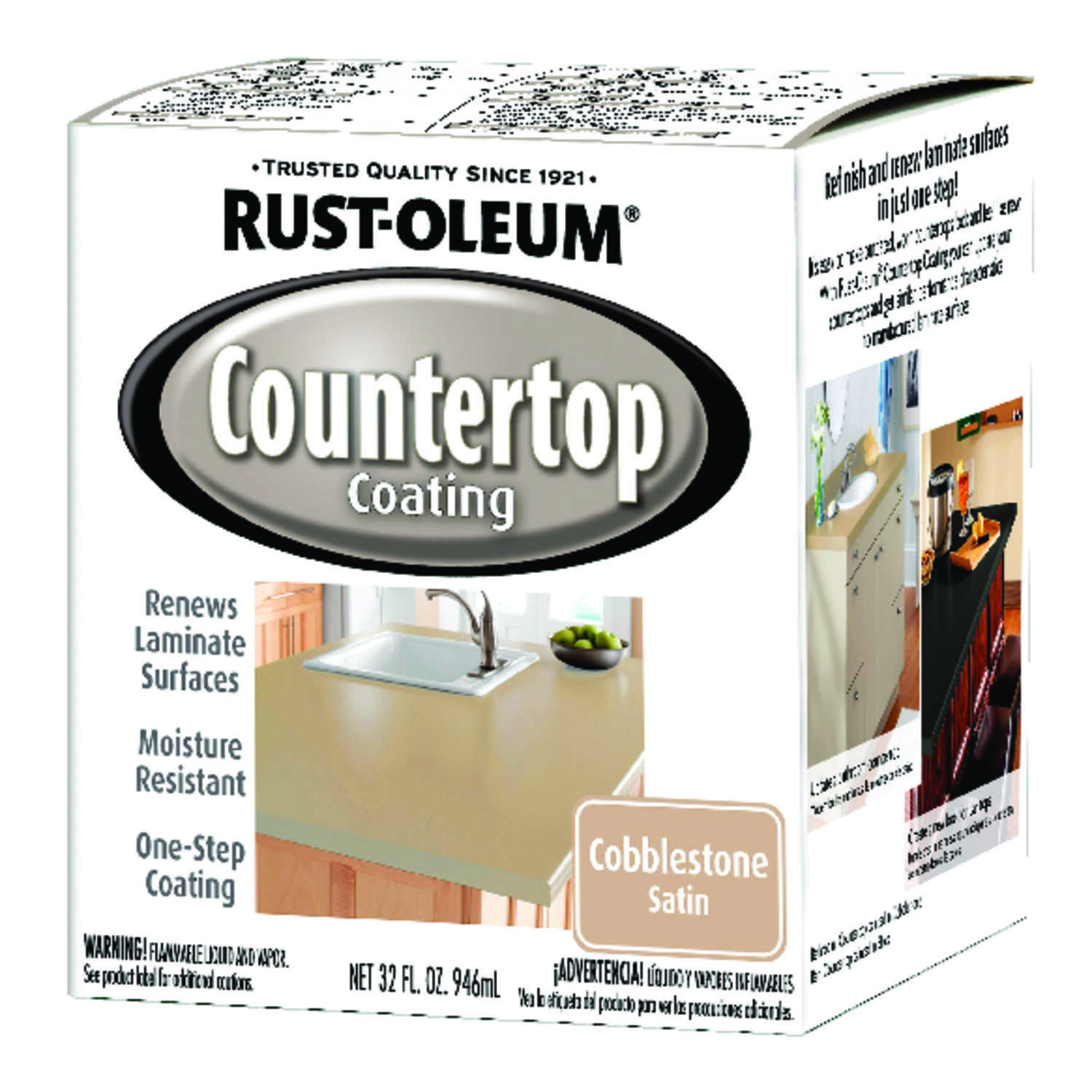 Rust-Oleum  Cobblestone  Countertop Kit  32 oz.