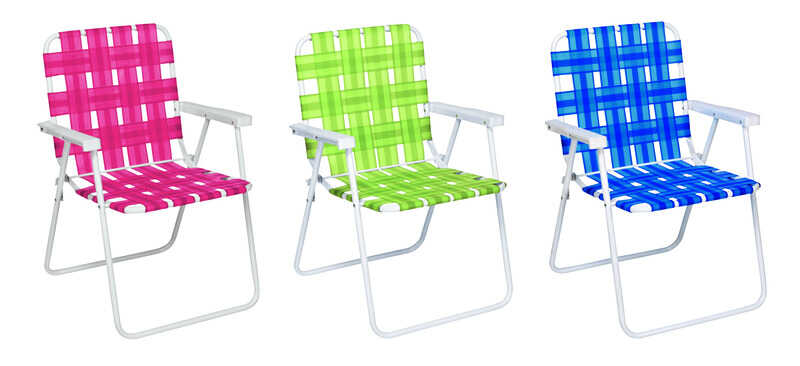 Rio Brands  Folding Web Chair