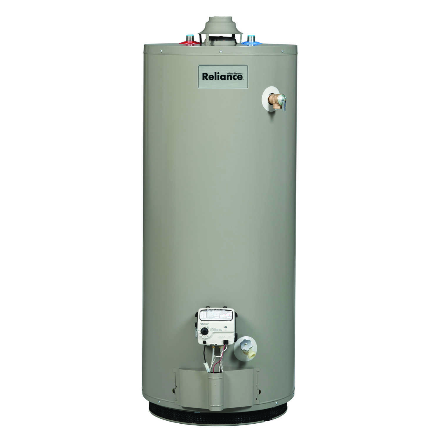 Reliance  Propane  Water Heater  62 in. H x 20 in. W x 20 in. L 40 gal.